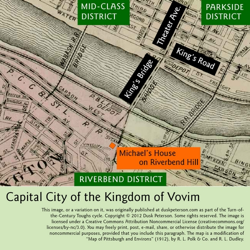 Map of the Capital City of the Kingdom of Vovim